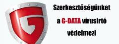 Szerkesztőségünket a GDATA vírusirtó védelmezi